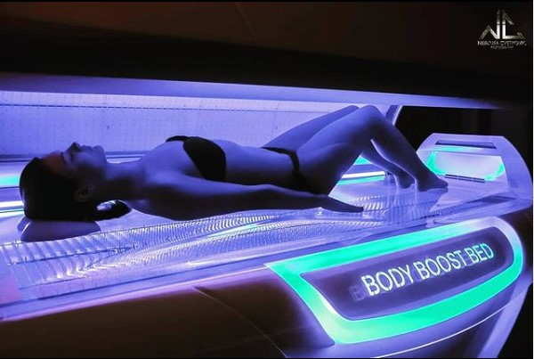 Body Boost Bed interieur